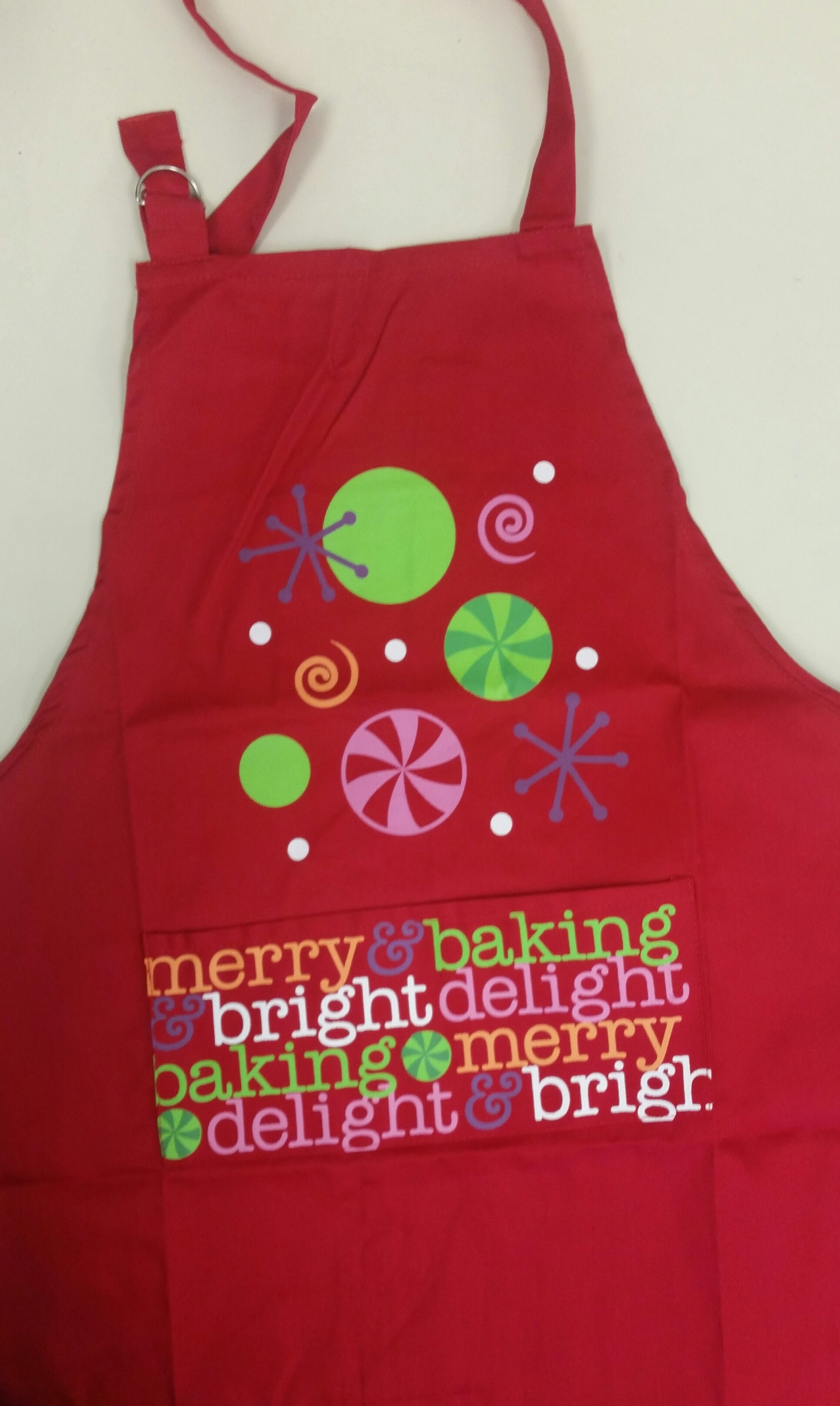 Holiday apron