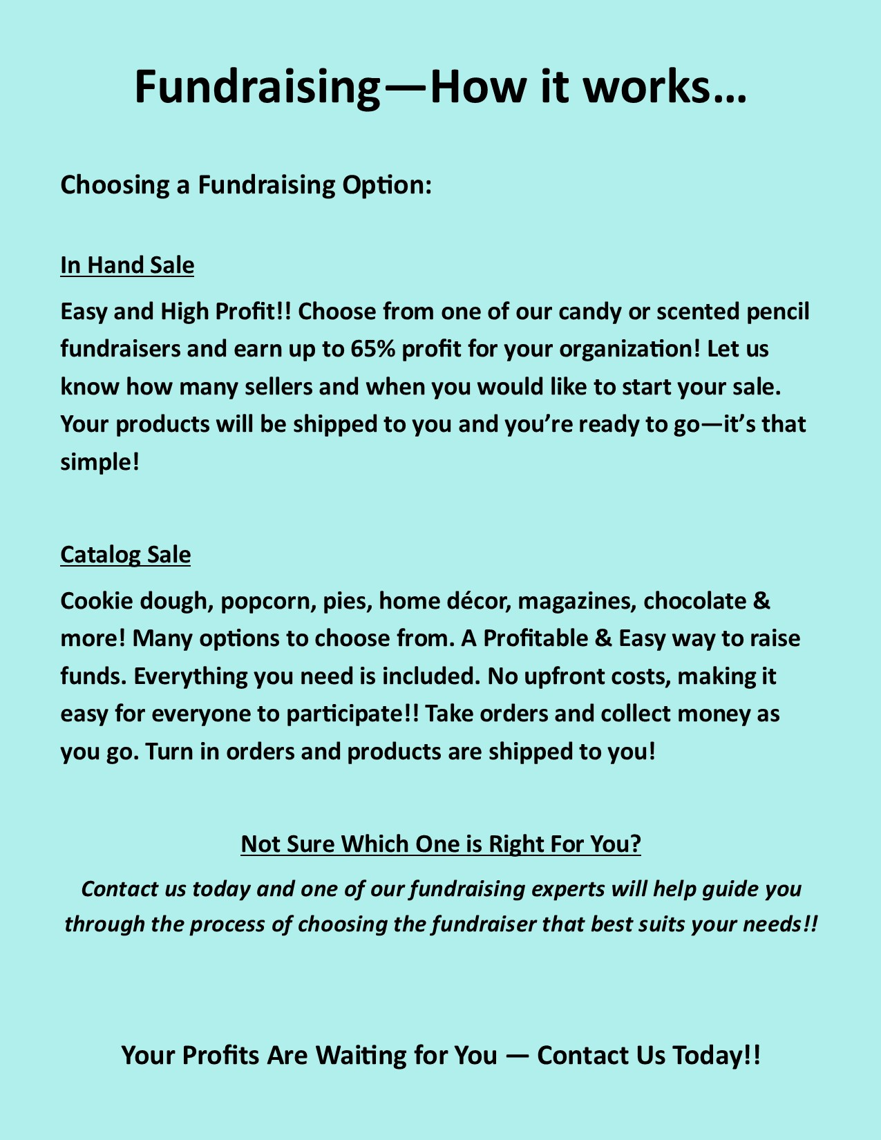 Fundraising How It Works